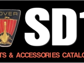 ROVER SD1 PARTS GUIDE RIMMER in SCOTTYS Supplier Library