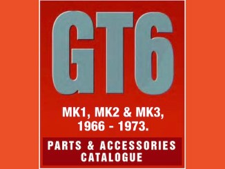 TRIUMPH TR6 PARTS GUIDE | RIMMER on SCOTTYS Supplier LIbrary pic2
