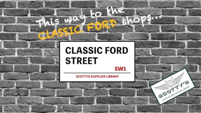 CLASSIC FORD PARTS SUPPLIERS
