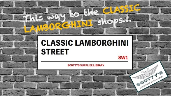 CLASSIC LAMBORGHINI PARTS SUPPLIERS