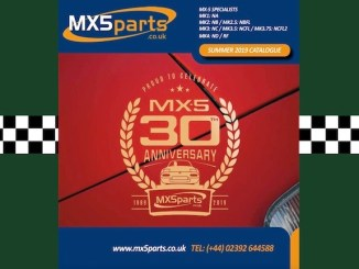 MAZDA MX5 PARTS CATALOGUE