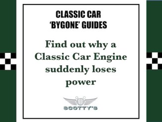 Find out why a classic car engine suddenly loses power