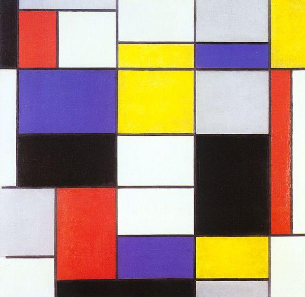 Piet Mondrian Composition Art