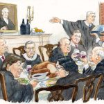 """Exams aren't over yet: SCOTUS quiz on """"Table for 9"""""""
