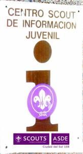 punto de información juvenil scout