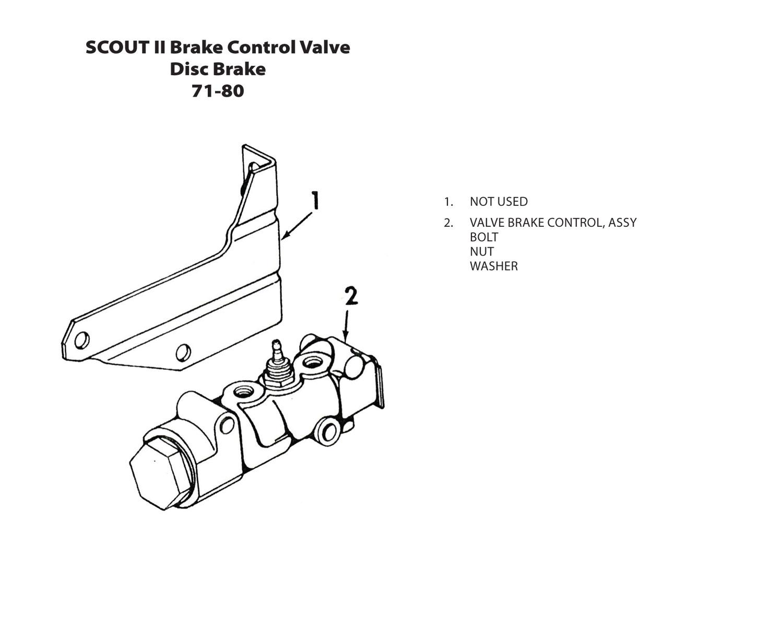 hight resolution of brake control valve