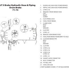 Mazda B2200 Carburetor Diagram 2002 Jetta Tdi Glow Plug Wiring Scout Ii Vacuum Connections Brakes Page B2000 Brake Hydraulic Hose Piping