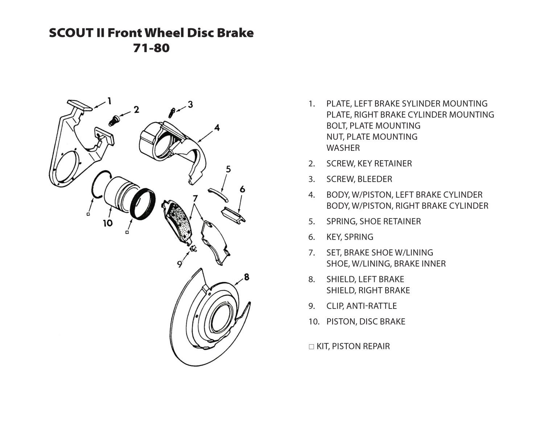 hight resolution of front wheel disc brake
