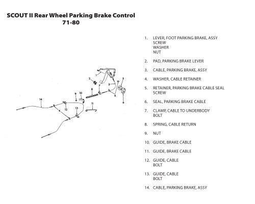 small resolution of rear wheel parking brake control