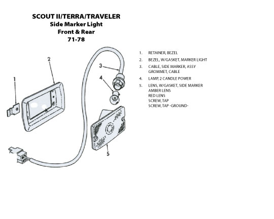 International Scout 80 Wiring Harness International Scout