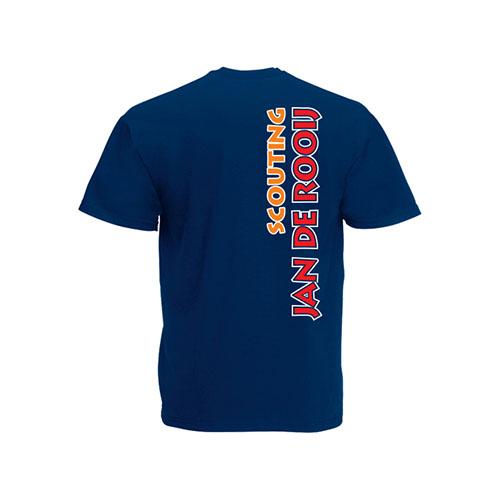 T-shirt Heren Achterkant