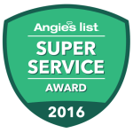 2016 Super Service Award from Angies List