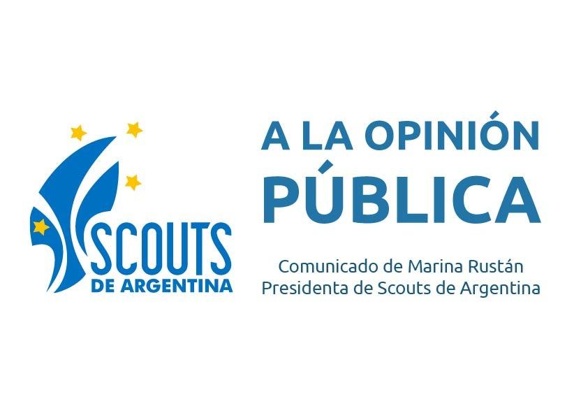 A la opinión pública Argentina