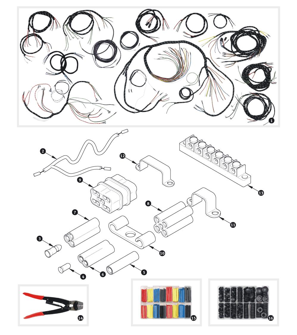Wiring Harnes Jaguar Xk150