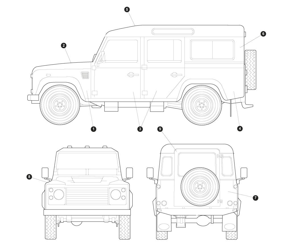 1970 land rover defender