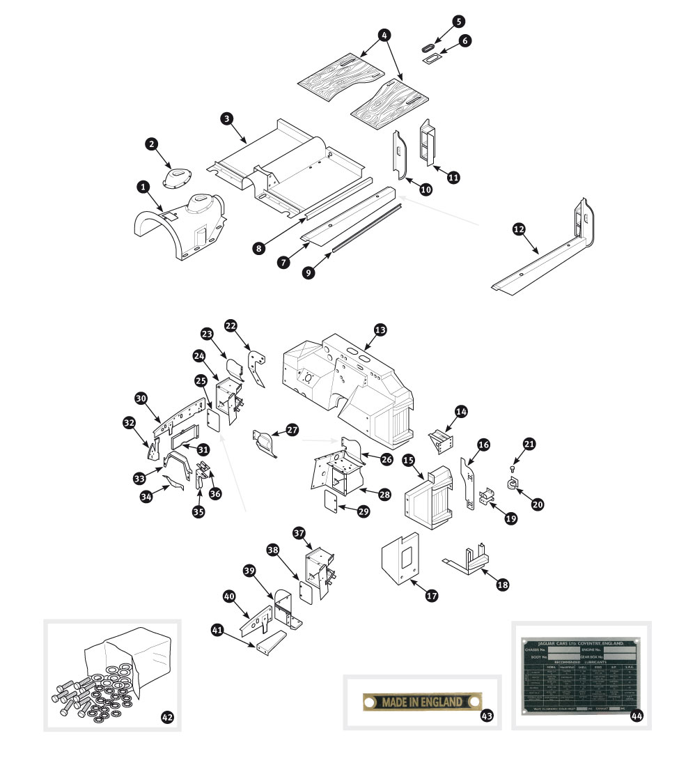 Jaguar Xk140 Parts Diagrams. Jaguar. Auto Wiring Diagram