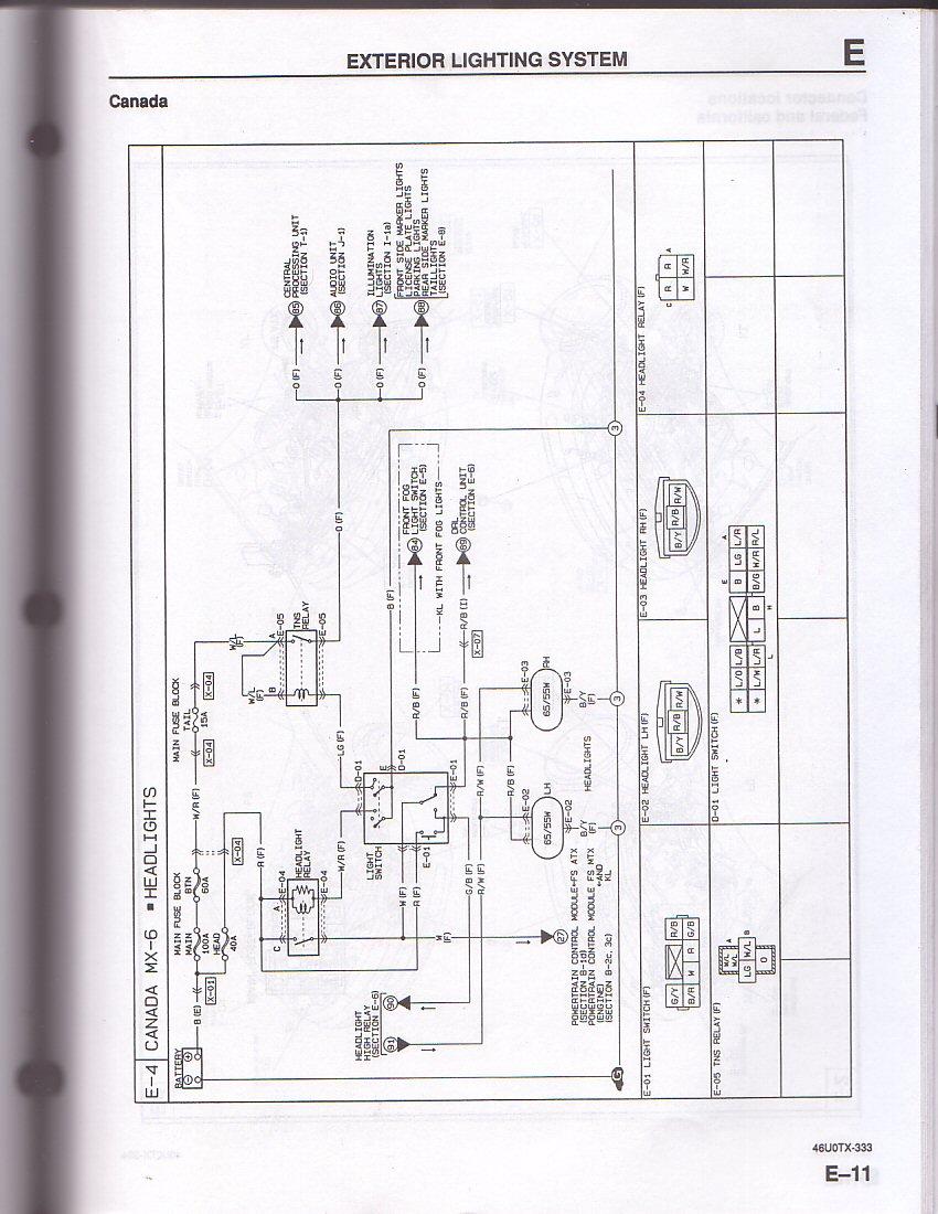 2006 mazda 6 headlight wiring diagram 2005 cobalt - mx-6 forum