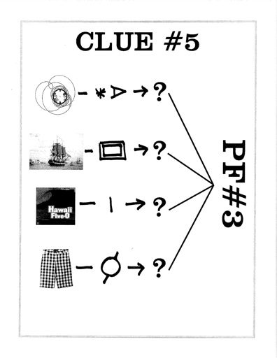 CAN YOU SOLVE PUZZLE FANTASTICA #3?