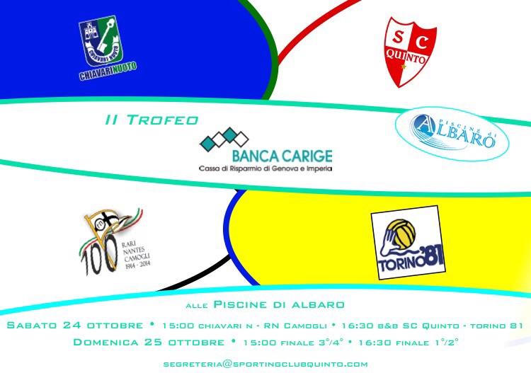 II Trofeo Banca Carige