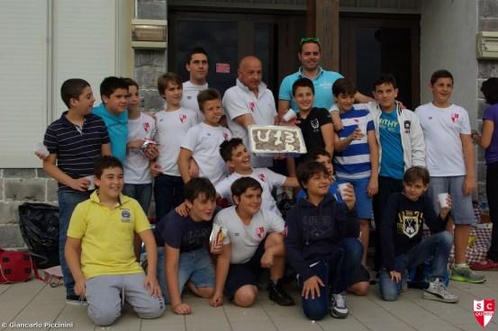 SC QUINTO - Festa ultima di campionato a Camogli