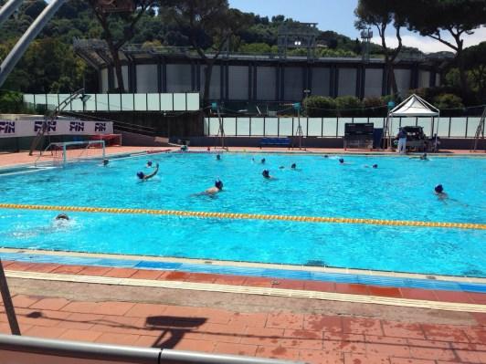 Under 17: Riscaldamento Acquachiara - SC Quinto
