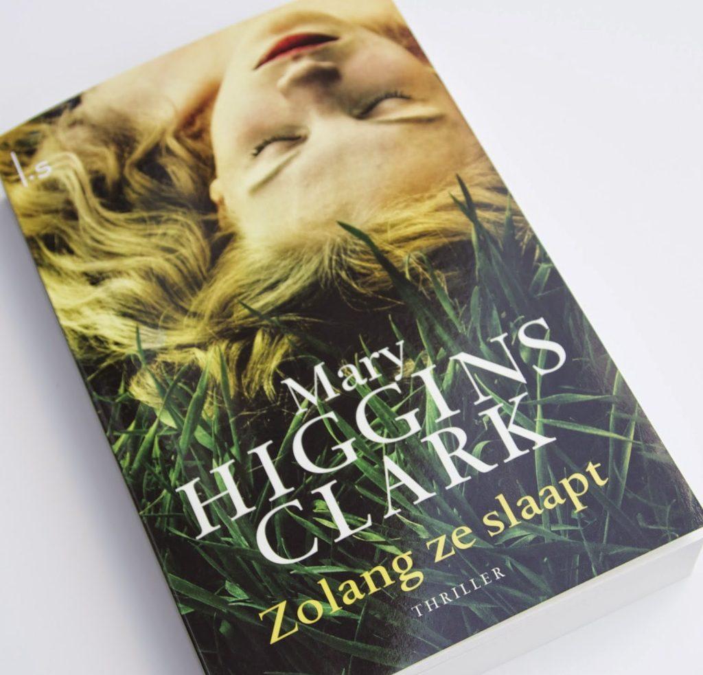 Zolang ze slaapt Mary Higgins Clark spannend boek de amerikaanse queen of suspense