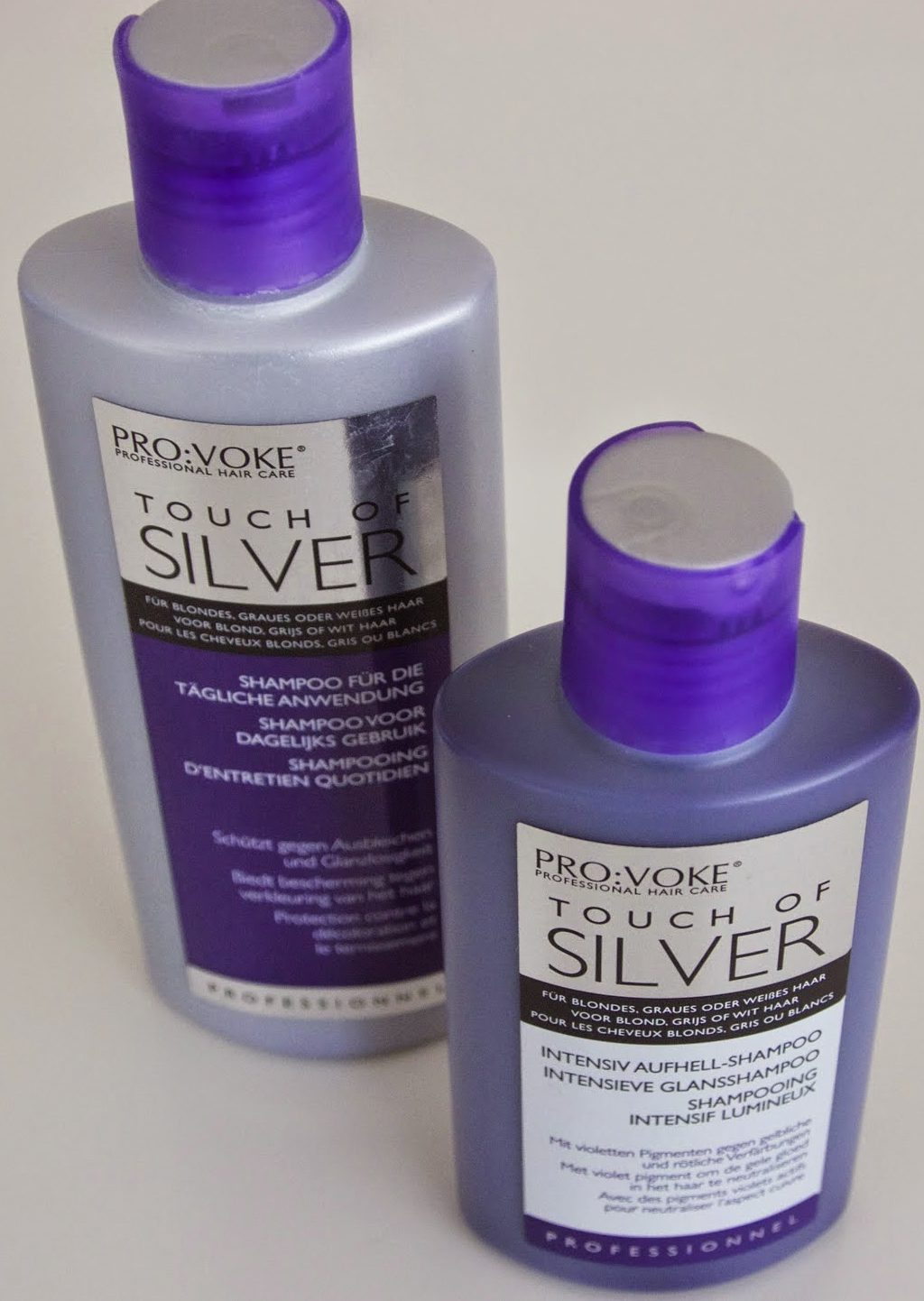 provoke Touch of silver intensieve glansshampoo review shampoo