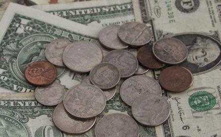 Diy vakantiegeld dollars inlijsten Geld aan muur Moneywall