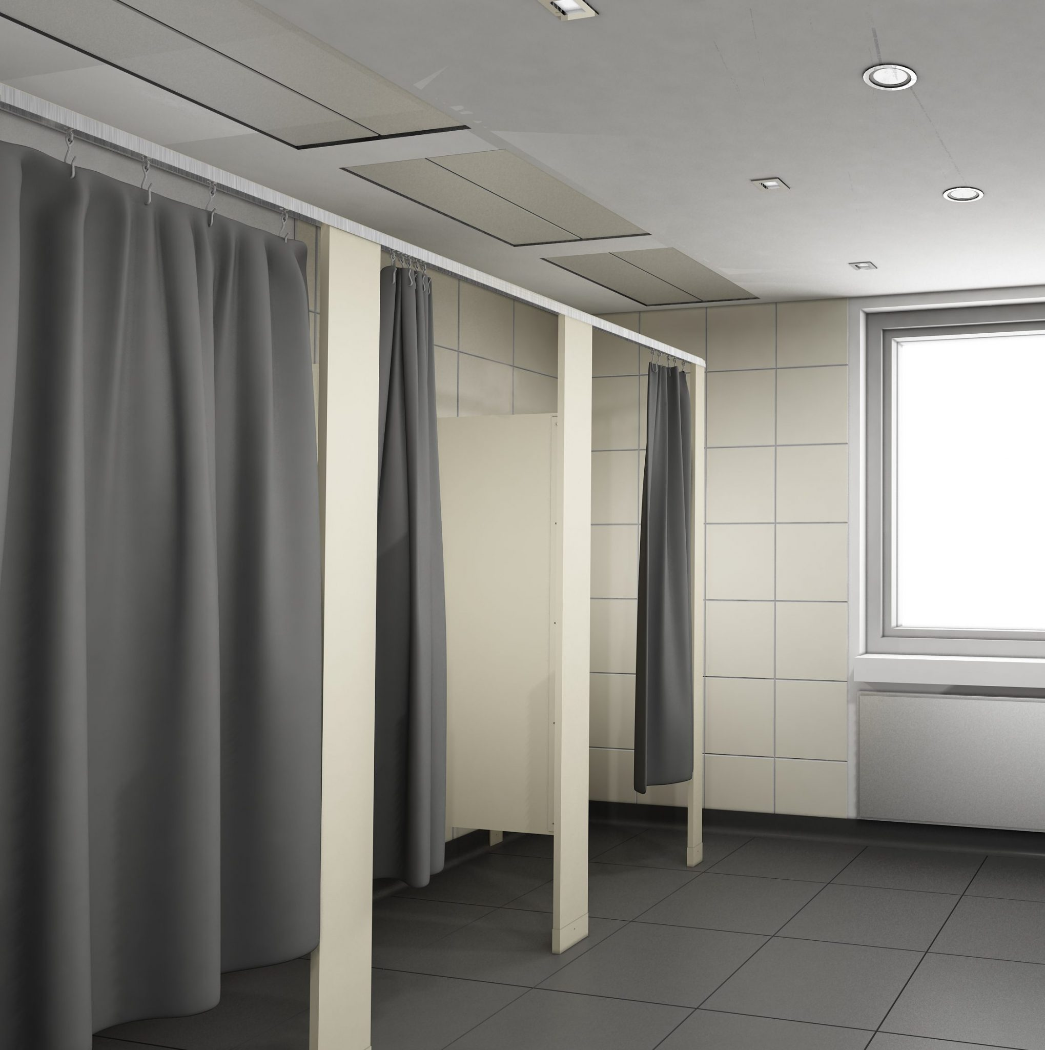 Dressing Room Partitions  Dressing Room Stalls  Scranton Products