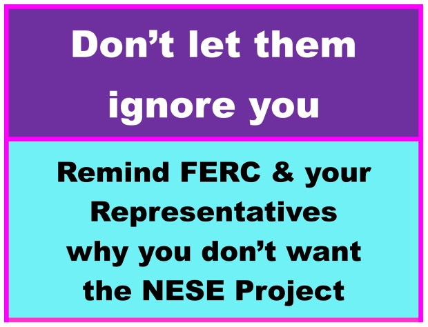 keep writing to your elected officials and the NJDEP about your concerns!