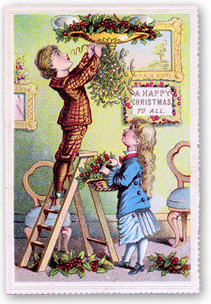 A Victorian Christmas Seasonal Decoration
