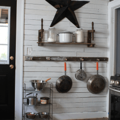 Kitchen Ladder Wooden Plate Rack Cabinet Pots And Pans Storage Using An Old In The Scrapality Pan Vintage
