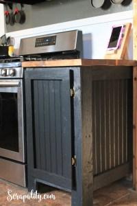 DIY Cabinet Door - Scrapality