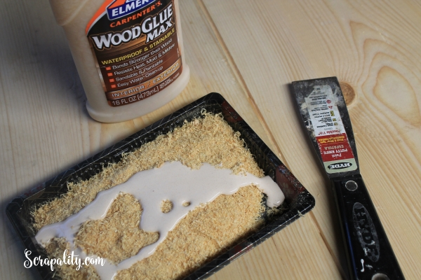 Making Wood Filler