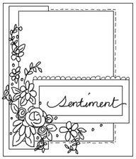 May Card Sketch