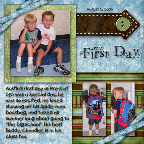 Pre-K: First Day