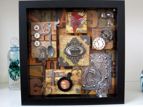Layout Art Shadow Box