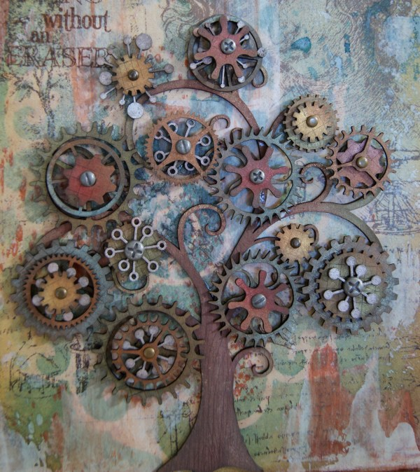 Steampunk Garden Art
