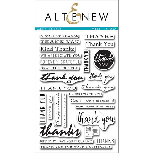 altenew clear photopolymer stamps