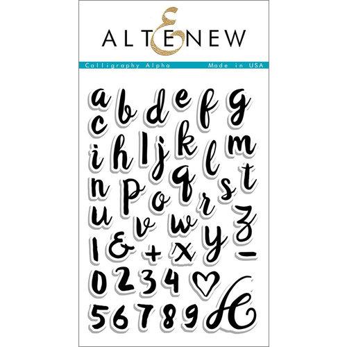 Altenew Calligraphy Alpha Stamps