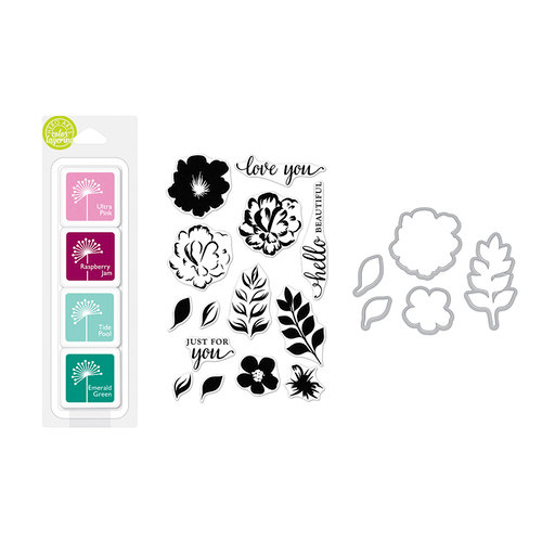 Hero Arts For You Flowers Color Layering Bundle