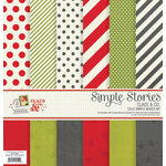 Simple Stories - Claus and Co Collection - Christmas - 12 x 12 Simple Basics Kit