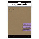 Ranger Ink - Inkssentials - 8.5 x 11 Cardstock Pack - Kraft