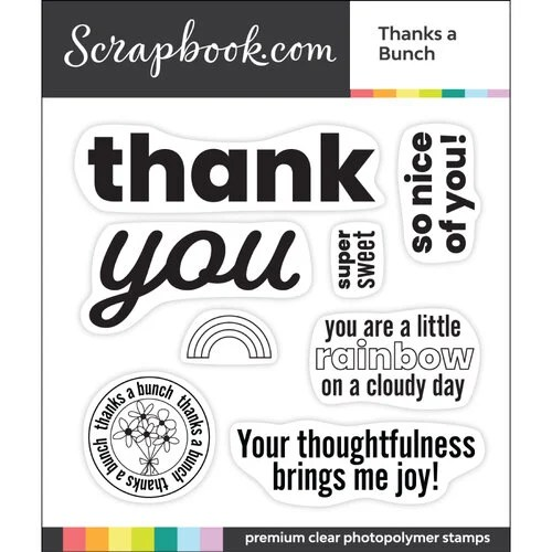 clear photopolymer stamp set