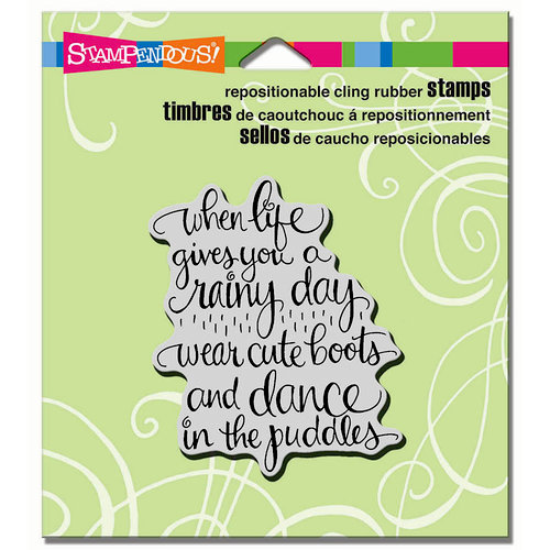 stampendous cling mounted rubber