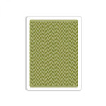 Sizzix - Tim Holtz - Alterations Collection - Texture Fades - Embossing Folder - Herringbone