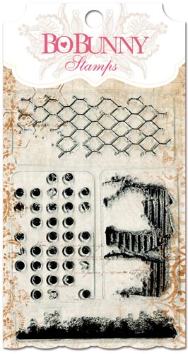 Bo Bunny Distressed Textures Stamps