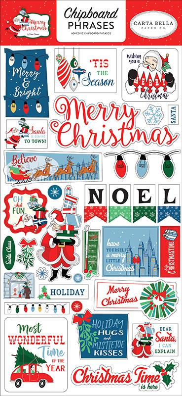 carta bella paper merry
