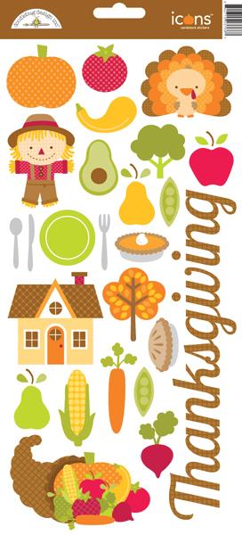 Doodlebug Design Happy Harvest Collection Cardstock