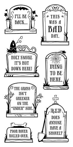 funny graveyard downloadable halloween tombstone epitaphs
